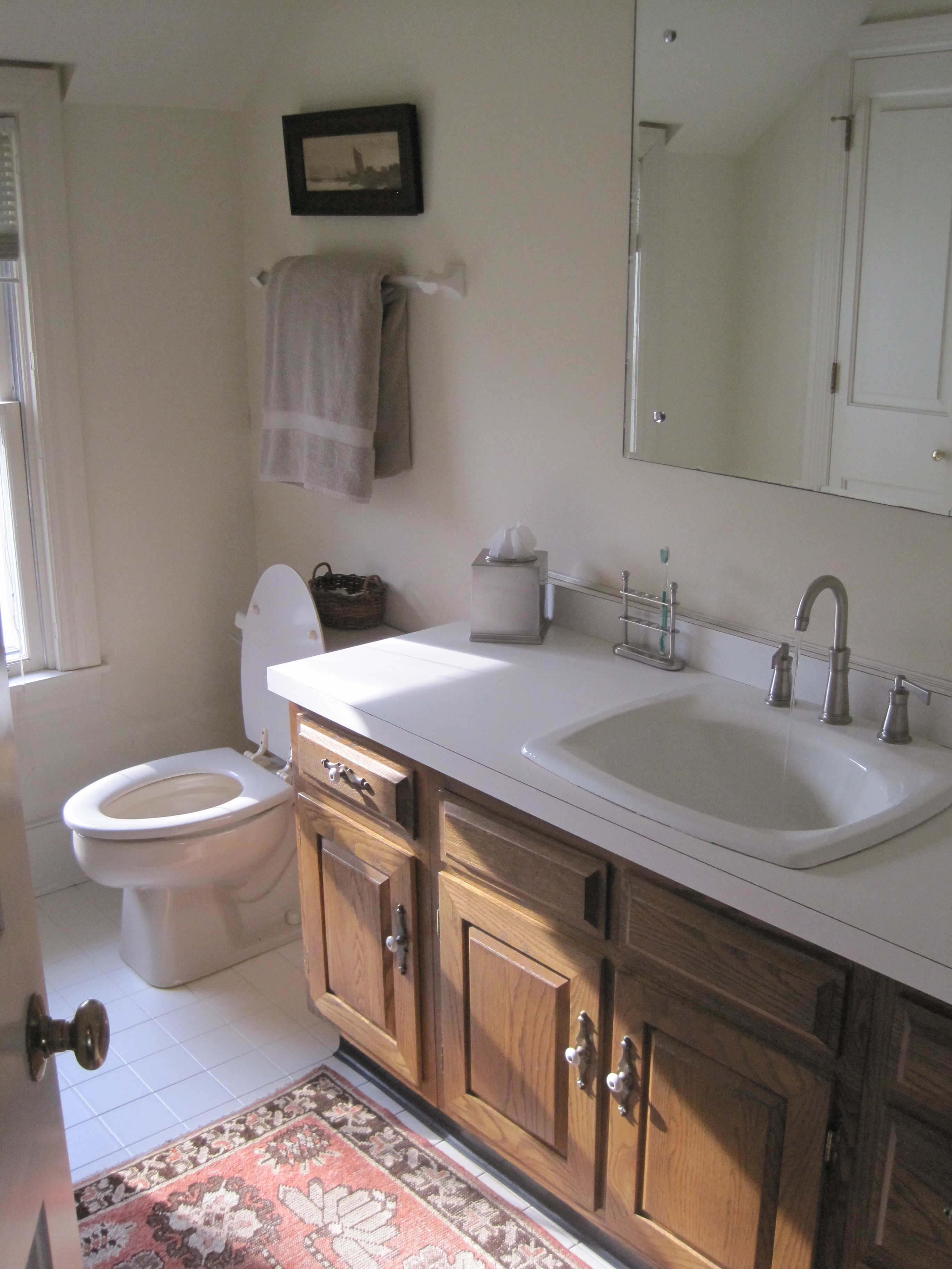 Master Bathroom Makeover Maple Magnolia - Cosmetic bathroom makeover