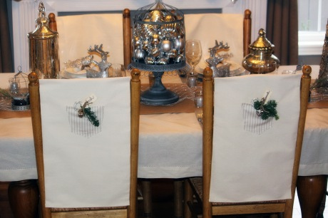 Dining Room Chair Back Covers